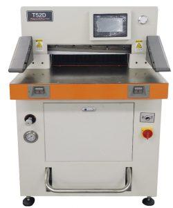 油圧式自動断裁機「T52D」