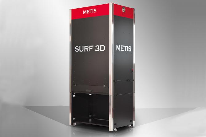 2.5D(カラー+凹凸) スキャナー/SURF 3D