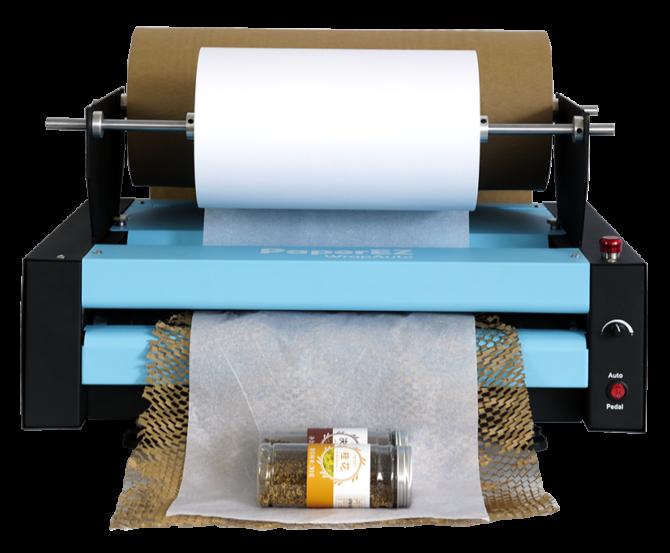 ハニカムペーパー包装機『ハニカムラップ HW75』