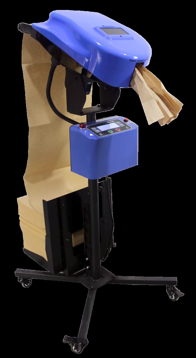 SDGsペーパー緩衝材製造機『クッションパッド CP60』